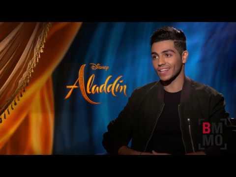 Mena Massoud Interview - Aladdin