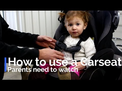 How to Buckle your baby in a car seat: srkcycles.com