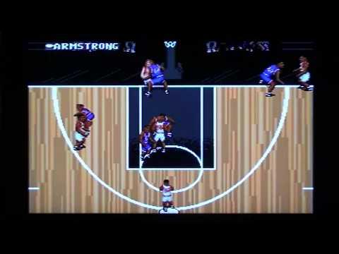 NBA Action 95 Starring David Robinson - Sega Genesis Longplay and Review (Retro Sunday)