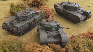 Tank platoons