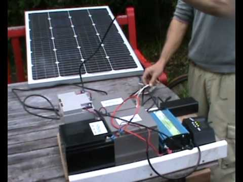 Hybrid Day Night Solar Charging System For Electric Bikes