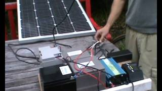 Hybrid Day Night Solar Charging System for Electric Bikes.avi