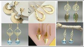 Latest Gold Earrings Designs !! Top Gold Jhumka /Bali designs Designs for girls & Women