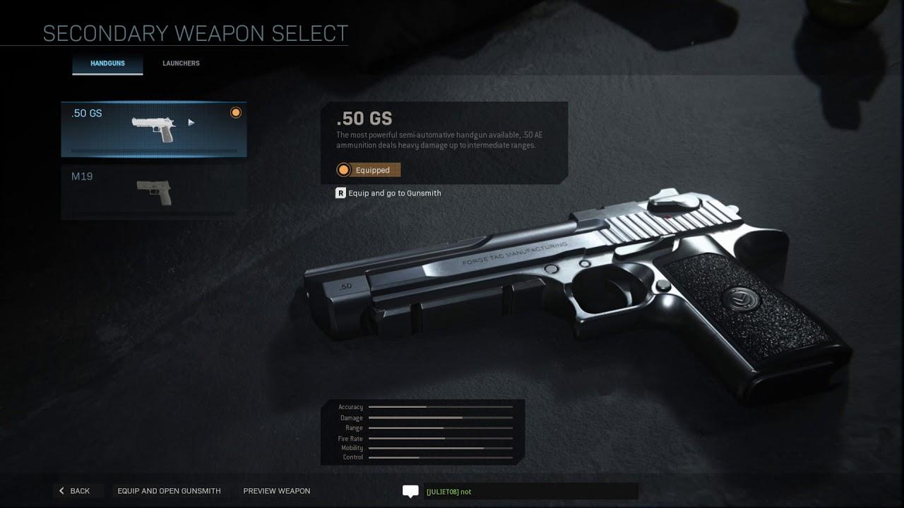 All Weapons Gear And Killstreaks In Modern Warfare Multiplayer