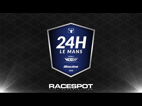 IRacing 24h Le Mans Powered By VCO | Hours 1-6
