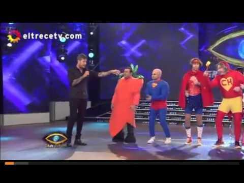 Showmatch: Present del chiste de politicos(Gran Cuñado 2016)