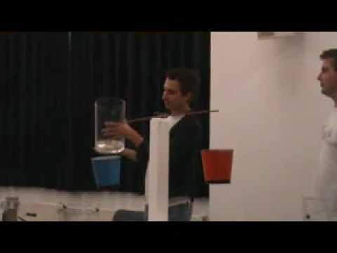 15th Slovenian Science Festival - science experiment