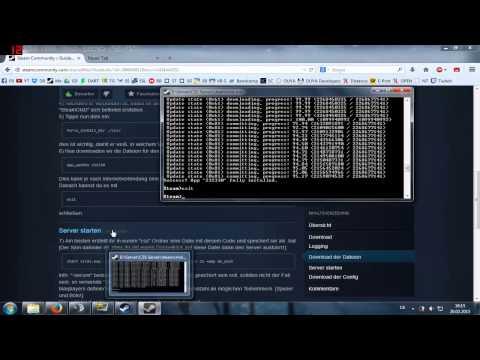 Counter-Strike: Source Dedicated Server (SteamCMD) [German/Deutsch]