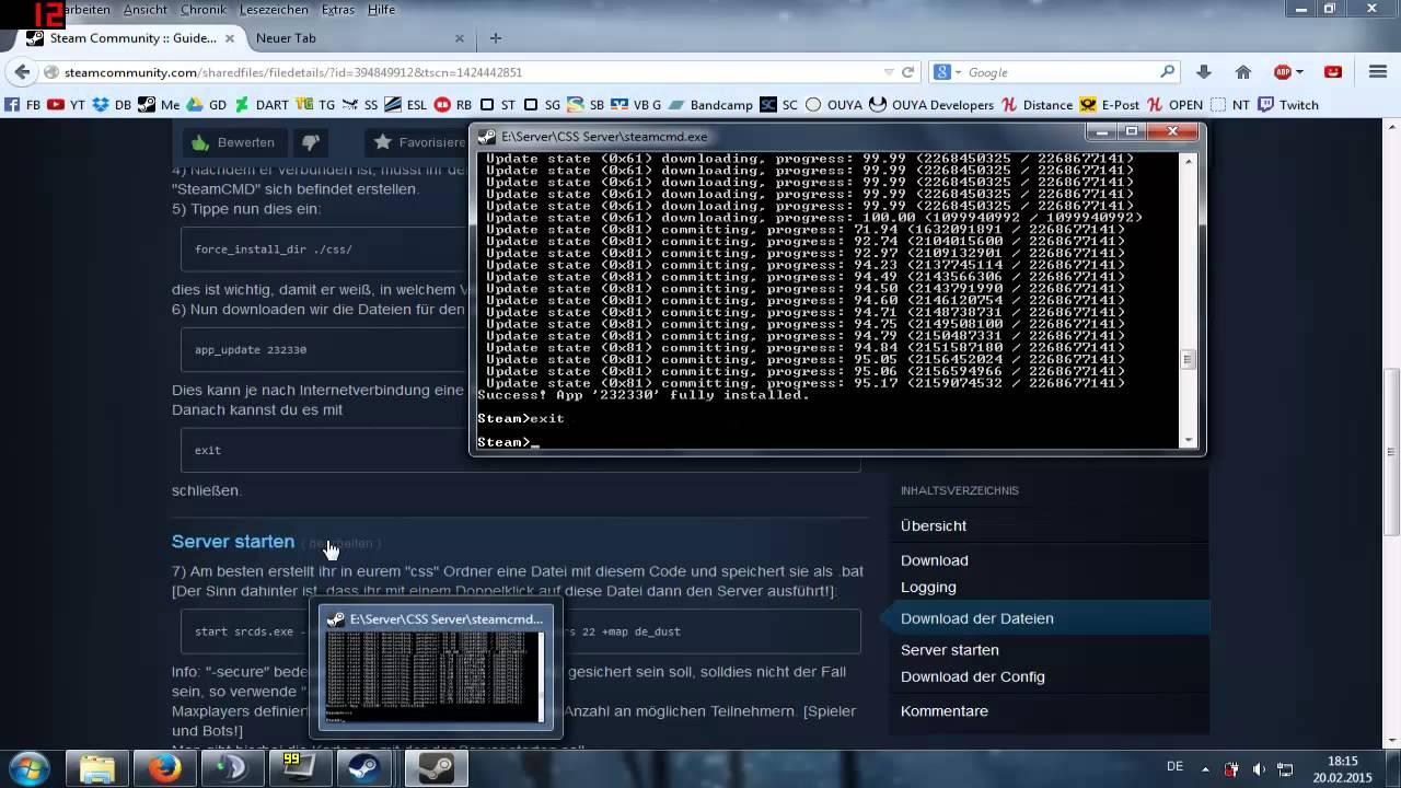как создать сервер на бесплатном хостинге в кс го