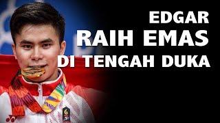 Atlet Wushu Edgar Marvelo Raih Dua Emas SEA Games 2019 di Tengah Duka