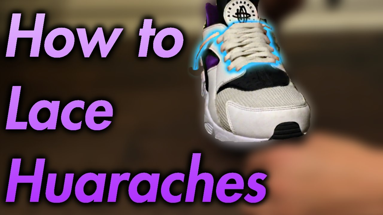 b5d8ad751f784 How to Lace Huaraches Loosely! - YouTube