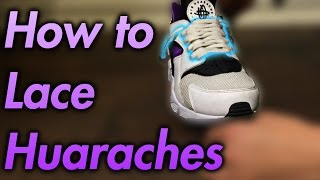How to Lace Huaraches Loosely!