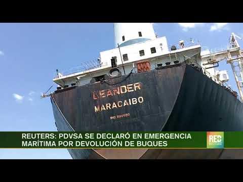RED+ | PDVSA se declaró en emergencia marítima por devolución de buques