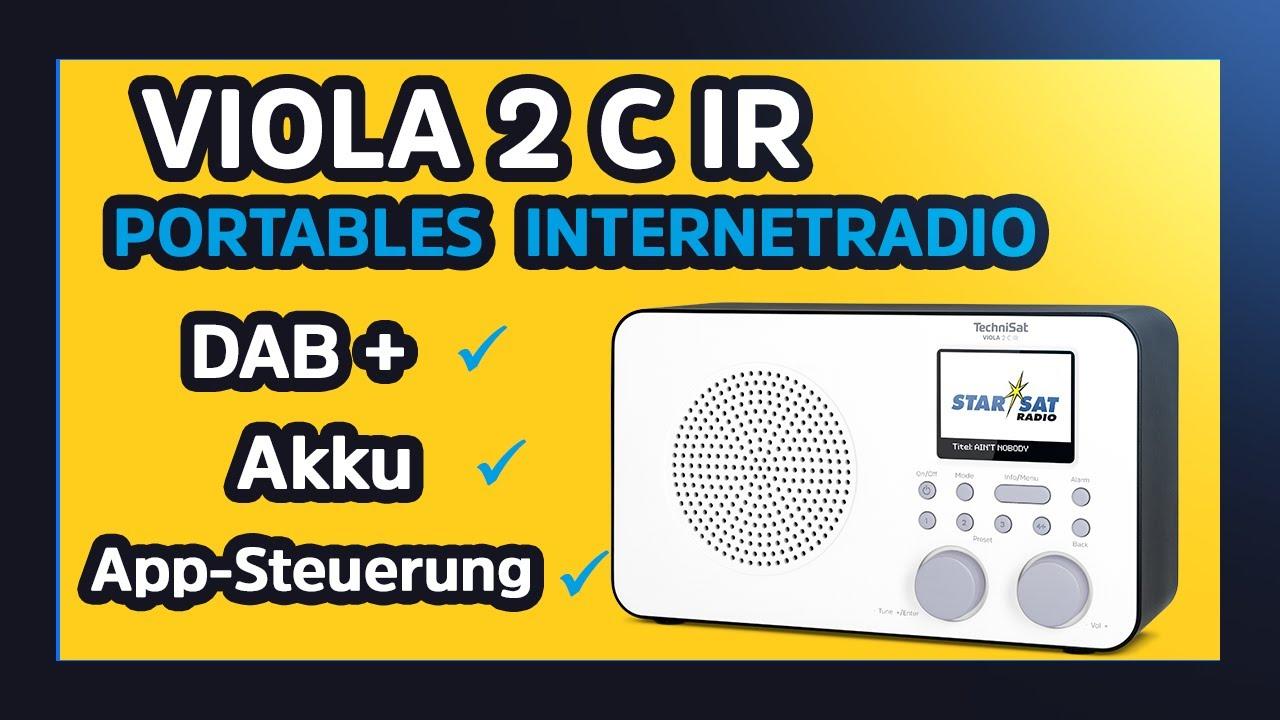 Video: Short Review VIOLA 2 C IR | Portables DAB+/UKW/Internet-Radio mit WLAN und Farbdisplay | TechniSat