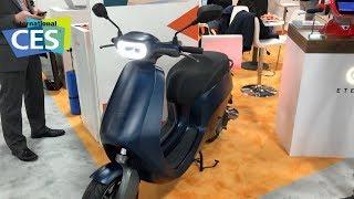 CES 2019 - Etergo eRoller: Endlich der perfekte Elektro-Scooter?