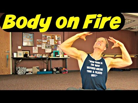 35 Min BODY ON FIRE Workout! Fat Burning Bodyweight Only Exercises at Home