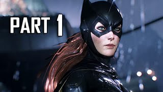 Batman Arkham Knight Batgirl Walkthrough Part 1 - A Matter of Family DLC