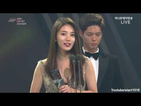 Clip 161116 수지Suzy - Best Star Award + Scenes  Cut -  Asia Artist AwardsAAA