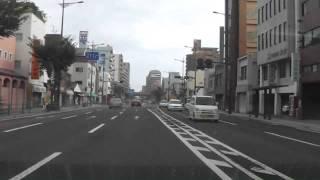 車載ビデオカメラ映像 鹿児島市 国道3号線 新照院
