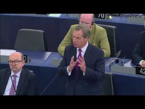 """Nigel Farage """"This Union is prepared to turn a blind eye"""" - 3rd October 2017"""