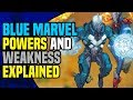 Blue Marvel: Adam Brashear All Powers And Weaknesses Explained