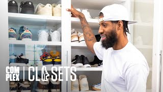 Paul George Shows His Sneaker Collection & New PlayStation Collab on Complex Closets