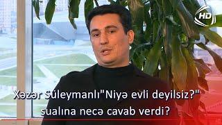 Xəzər Süleymanlı\