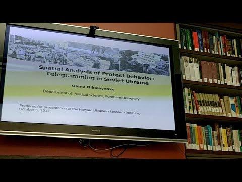 Olena Nikolayenko: Spatial Analysis of Protest Behavior: Telegramming in Soviet Ukraine
