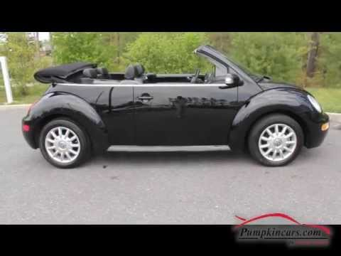 2005 Vw New Beetle Convertible 33k Miles