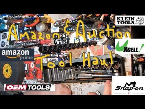 Amazon and Auction Tool Hauls