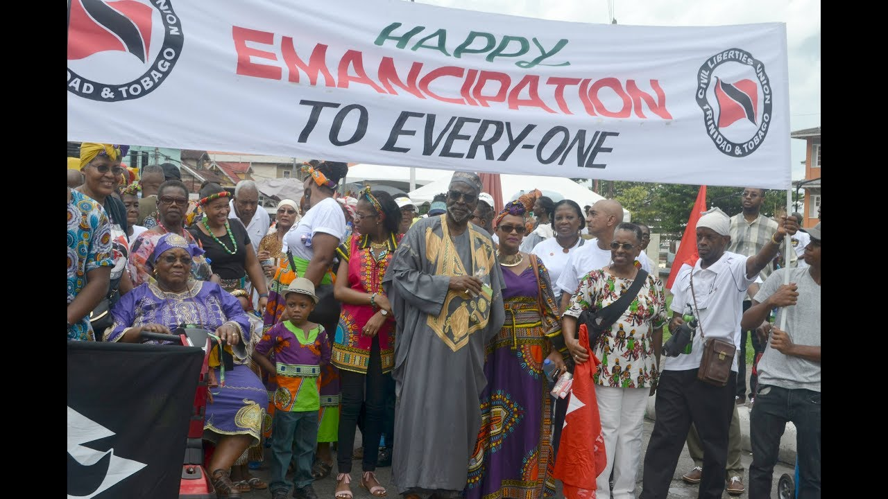 Emancipation Day In Trinidad August 1st 2017 Part One