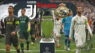 Real Madrid Vs Juventus - Finale di Champions League | PES 2019 Patch [Giù]
