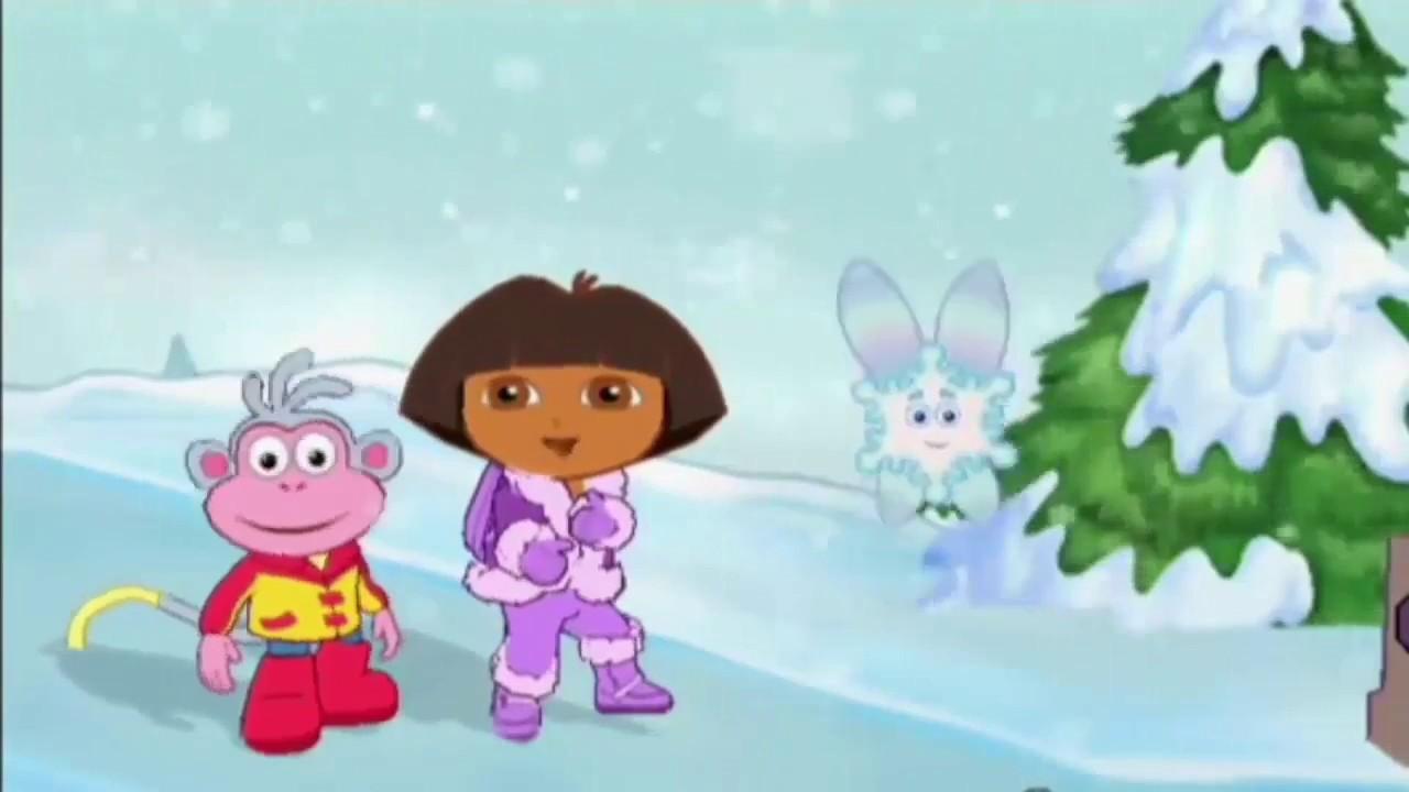 Dora l 39 exploratice en francais sauve la princesse des neiges nouveau 2017 youtube - Dora princesse des neiges ...