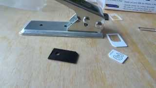 How to use a Micro SIM Cutter