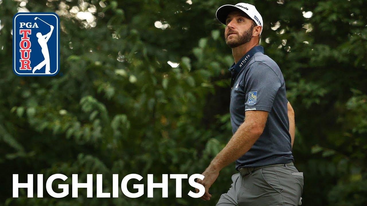 Jon Rahm shoots 65 to catch Dustin Johnson at Tour Championship