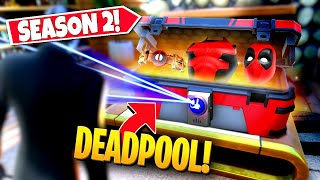 *NEW* FINDING RARE DEADPOOL *CHEST* IN-GAME IN SEASON 2! (Battle Royale)
