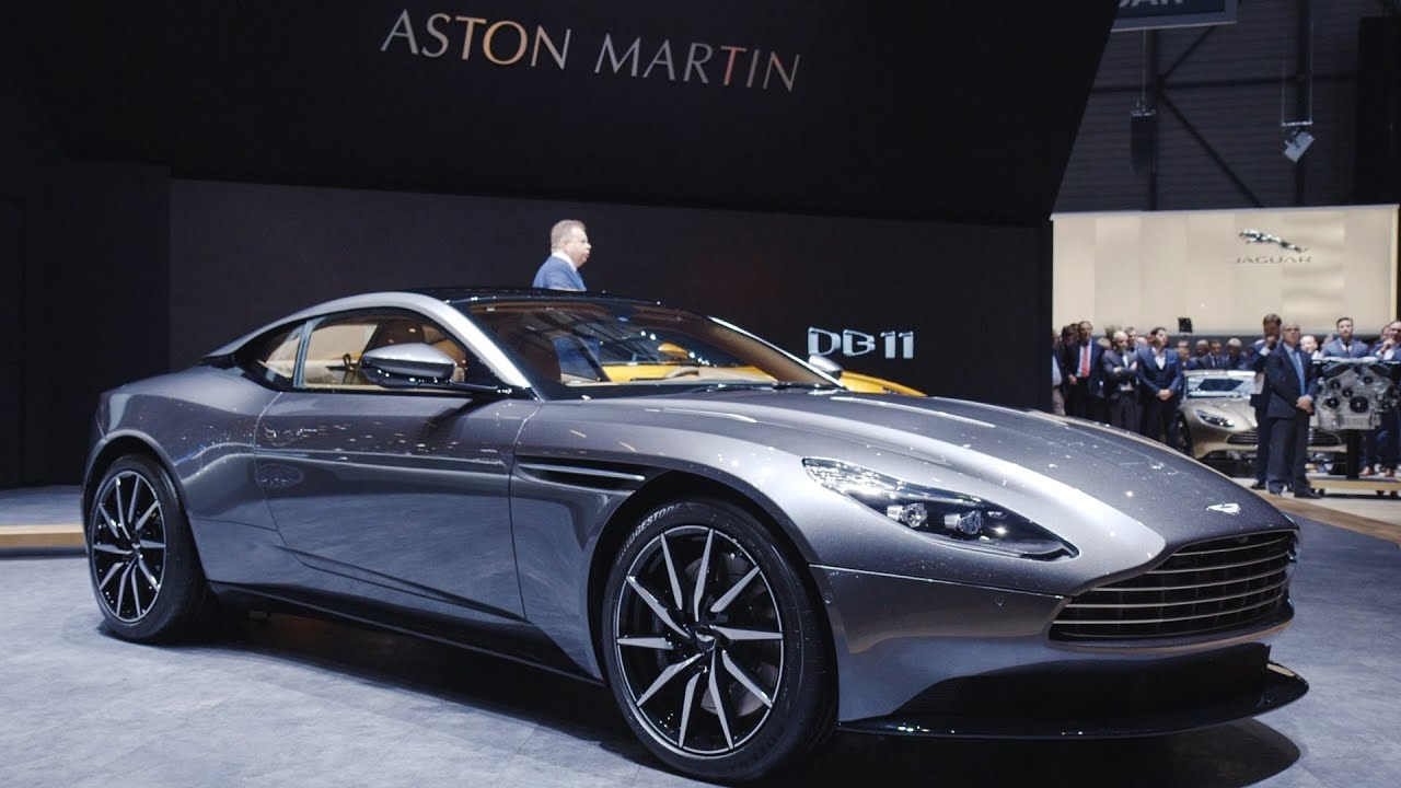 Aston Martin Unveils The Stunning Db11 Youtube