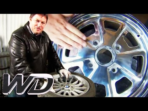 How To Clean & Respray Alloy Wheels | Wheeler Dealers