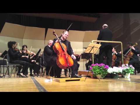 Jameson Platte Plays Haydn Concerto For Cello In C, Movement 1