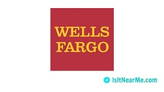 Find Wells Fargo Near Me