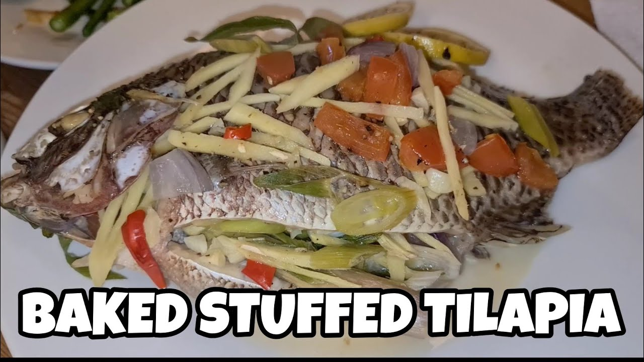 Mama S Secret Recipe Baked Stuffed Tilapia Youtube