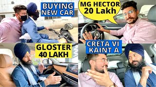 Time To Buy A New Car in India (MG Hector vs Creta)