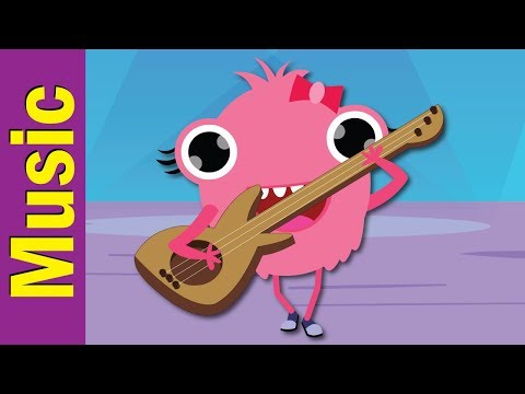 Can You Play Guitar?   Musical Instruments   Kindergarten, Preschool & ESL   Fun Kids English