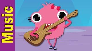 Can You Play Guitar? | Musical Instruments | Kindergarten, Preschool & ESL | Fun Kids English