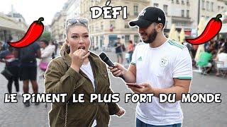 LE PIMENT LE PLUS FORT DU MONDE - 10€ SI TU REUSSI - Micro Trottoir