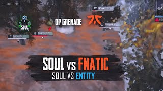 OP Grenade To The WIN! SouL Vs Fnatic & Entity • #VE Competitive League Highlights #2
