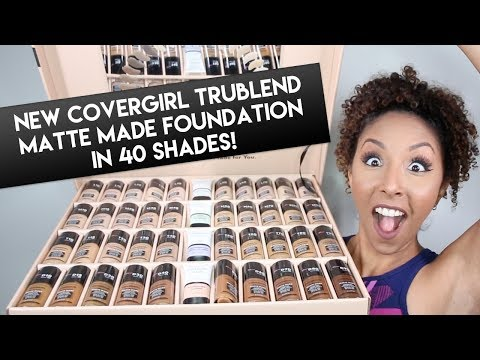 NEW CoverGirl TruBlend Matte Made Foundation Review! Foundation Friday! - BiancaReneeToday - 동영상
