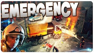 EMERGENCY, Illegal Street Race Crash Disaster! | EMERGENCY 20 Gameplay