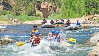 Rafting Browns Canyon on the Arkansas River