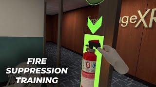 FreeRangeXR Fire Suppression Training